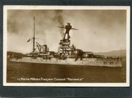 """CPA - Marine Militaire Française - Cuirassé """"PROVENCE"""" - Guerre"""