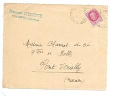 DOCUMENT Commercial ENVELOPPE 1942..Chaussures LETONDEUX à VILLEDIEU ( Manche 50)...Recto Seul - Francia