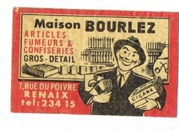 Renaix / Ronse: Maison Bourlez - Boites D'allumettes - Etiquettes