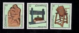 858143212 SCOTT 933 934 935 POSTFRIS MINT NEVER HINGED EINWANDFREI (XX) - MUSEUM EXHIBITS COUNTRY ART WINE PRESS POTTERY - Luxembourg