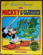 BD MICKEY A TRAVERS LES SIECLES - 3 - Mickey Et Les Travaux D'Hercule - Rééd. 1983 - Disney