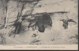 SASSENAGE __  L'ENTREE DE LA GROTTE ET CUVE - Sassenage