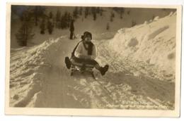 36 - St Moritz - Kleiner Bob Auf Chantarella-Bahn - Sports D'hiver