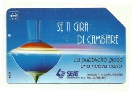 Italia - Tessera Telefonica Da 5.000 Lire N. 320 - Trottole - Se Ti Gira Di Cambiare - Italië