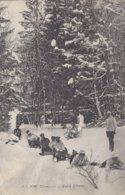74 CHAMONIX MONT BLANC SPORTS D HIVER UNE PARTIE DE LUGE  Edit JULLIEN FRERES JJ8028 - Chamonix-Mont-Blanc