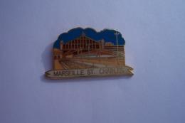 PIN'S -  MARSEILLE - ST CHARLES - TGV - TGV