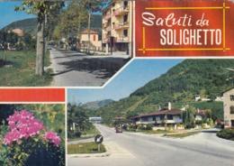 9570-SALUTI DA SOLIGHETTO(TREVISO)-FG - Saluti Da.../ Gruss Aus...