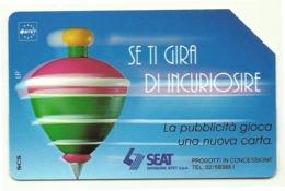 Italia - Tessera Telefonica Da 5.000 Lire N. 323 - Trottole - Se Ti Gira Di Incuriosire - Italië
