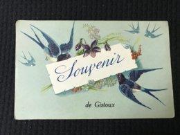 Carte Postale Ancienne Souvenir De Gistoux - Chaumont-Gistoux