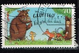 Bund 2019,Michel# 3450 O Trickfilmfiguren; Der Grüffelo - Gebraucht
