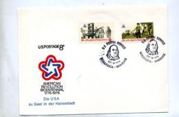 Lettre  Cachet  Us Postal Nordposta Hambourg  Independance - Storia Postale