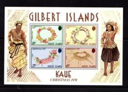 GILBERT  ISLANDS    1978    Christmas    Sheetlet      MNH - Gilbert & Ellice Islands (...-1979)