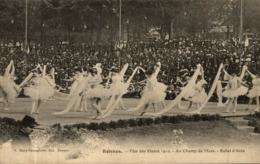 RENNES FETE DES FLEURS 1910 AU CHAMP DE MARS BALLET D'AIDA - Rennes