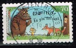 Bund 2019,Michel# 3452 O  Trickfilmfiguren; Der Grüffelo Selbstklebend - Gebraucht