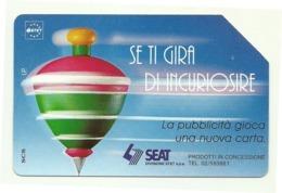 Italia - Tessera Telefonica Da 5.000 Lire N. 325 - Trottole - Se Ti Gira Di Incuriosire - Italië
