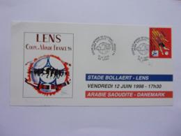 Football  Coupe Du Monde  France 98 Stade Boallaert Lens Arabie Saoudite Danemark 12-6-1998 - World Cup