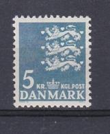 COAT OF ARMS BLASON WAPPEN ESCUDO DE ARMAS 5  Kr - DENMARK DANMARK DÄNEMARK 1968MNH - Briefe U. Dokumente