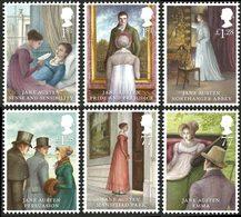 GRANDE-BRETAGNE Jane Austen 2013 6v Neuf ** MNH - 1952-.... (Elizabeth II)