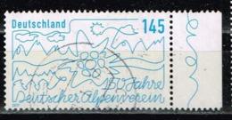 Bund 2019,Michel# 3456 O 150 Jahre Deutscher Alpenverein - Gebraucht