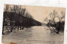 HOCHWASSER KATASTROPHE BAD KISSINGEN 1909 DAS UBERFLUTETE SAALETAL VON DER LUBWIGSBRUCKE AUS GESEHEN - Bad Kissingen