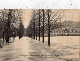 HOCHWASSER KATASTROPHE BAD KISSINGEN 1909 DAS PRINZREGENT LUITPOLD UNTER WASSER - Bad Kissingen