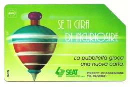 Italia - Tessera Telefonica Da 10.000 Lire N. 327 - Trottole - Se Ti Gira Di Incuriosire - Italië