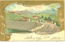 13324 - Varese - Tramvia Elettrica Varese I Cappella F - Varese