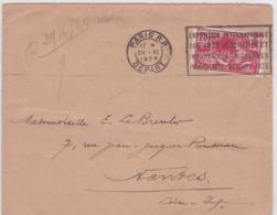LSC - OBL. Méc.- PARIS RP DEPART / 28.VI.1928 - Marcophilie (Lettres)