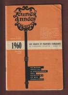 JEUNES  ANNEES  MAGAZINE - Janvier / Février 1960 - N° 3 & 4 - 96 Pages - Voir Les 3 Photos - Livres, BD, Revues