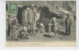 ETHNIQUES ET CULTURES - AFRIQUE DU NORD - SCENES ET TYPES - Gourbi De Nomades - Africa