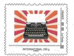 "France (2019) Entier Postal De Service Prêt-à-poster ""Machine à écrire"", ""Ribbon Typewriter"". Service Postal Stationery. - Enteros Postales"