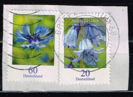 Bund 2019,Michel# 3468 O  Blumen: Kornblume - Gebraucht