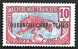 OUBANGUI-CHARI  1915-18  - YT  5  - NEUF* - Neufs