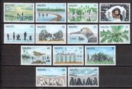 Nauru 1978 Mi 162 + 167-178 MNH - Nauru