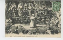 ETHNIQUES ET CULTURES - AFRIQUE DU NORD - SCENES ET TYPES - Réunion D'Aïssaouas - Africa