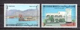 United Arab Emirates UAE 1973 Mi 10-11 MNH - United Arab Emirates