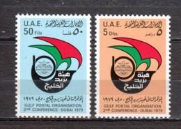 United Arab Emirates UAE 1979 Mi 98-99 MNH - Ver. Arab. Emirate