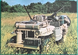 SAS Jeep Restored As A Dessert Patrol Vehicle Of The Special Air Service. - Equipment