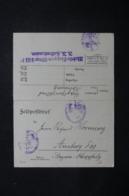 ALLEMAGNE - Carte En Feldpost En 1915, Voir Cachets Militaire - L 44110 - Germany