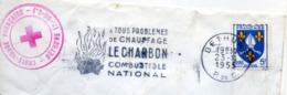 Industrie, Charbon, Béthune, Croix Rouge - Flamme Secap - Enveloppe Entière (V434) - Autres Collections