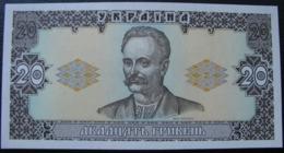Ukraine 20 Hryvnia Griven UAH 1992 UNC Hetman Getman - Ucraina