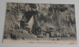 76 - Dieppe - Habitation De Pêcheur Dans La Falaise :::: Animation - Métiers - Pêche   ------------- 511 - Pêche