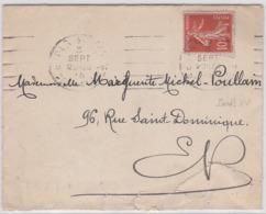 LSC - OBL. Méc.- PARIS XV / 3 SEPT.15 - Marcophilie (Lettres)