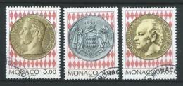 MONACO 1994 .  N°s 1945 , 1946 Et 1947 . Oblitérés . - Monaco