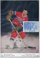 48216 Canada, Maximum 1956,  Eishockey, Hockey On Ice,  Hockey Sur Glace - Hockey (Ijs)