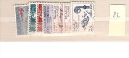 1982 MNH Greenland Year Complete, Postfris - Greenland