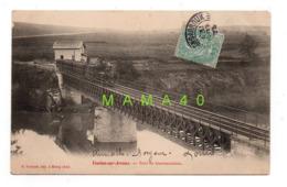 CPA - 71 - TOULON SUR ARROUX - PONT DU GOURMANDOUX - TRAIN - France