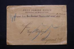 ALLEMAGNE - Enveloppe Commerciale De Dissen En 1894 - L 44117 - Germany