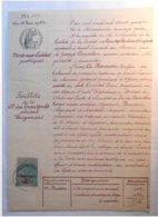 Vente Aux Enchères Publiques - Faillite Sté Transports Aériens Guyanais - Saint Laurent Du Maroni (Guyane ) 1924 - Transports