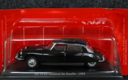 Citroën DS 19 Du Général De Gaulle 1963 - Toit Ouvrant - 1/43 NEUF Sous Blister - Carros